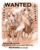 Wanted dead or alive. by AngelPapillon