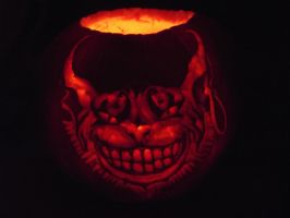 Cheshire Cat Pumpkin Carve by Laura-Bosley
