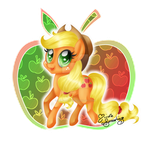 Applejack, the Element of Honesty by NemoTurunen