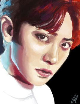 EXO- Chanyeol by TheCorinna