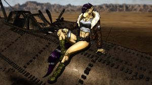 Pennrose and her Plane by Tristikov