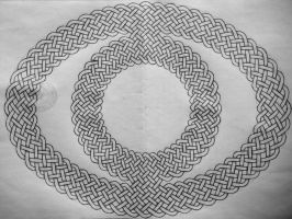 Oval celtic knot by Trablete