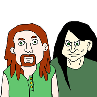 Pickles the Drummer and Nathan Explosion by MikeEddyAdmirer89