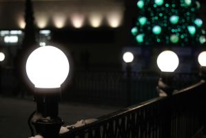 Walking to the green lights by LifeFun