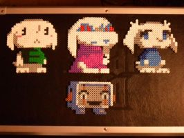 Cave Story Perlers by mecharichter
