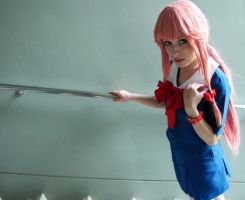 Gasai Yuno Cosplay - I'll protect you.. by x--Cupcake