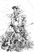 Army of Darkness Pin Up Inked - Bradshaw - Egli by SurfTiki
