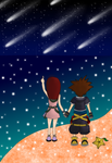 'Isn't it beautiful, Sora?' by HeartlessKairi