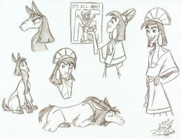 Kuzco by digitalstitch626