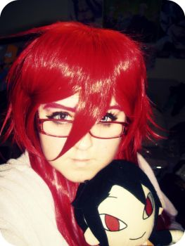 New Grell Wig by SEcosplay