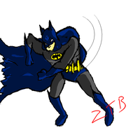 Batman Swings by zealthebat