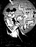 Mickey Mouse...most wanted. by davechisholm
