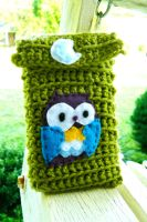 Owl iPhone Case by someweirdcrab
