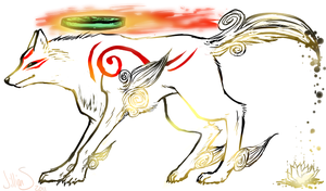 Amaterasu by TalaSeba