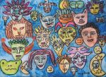 Masks Of my Life painting by ingeline-art