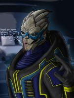 Mass Effect - Garrus' Insubordination by Guyver89