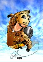 The Rocketeer by Dante-Picasso