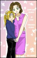 Edward and his mom by rose123321123