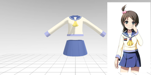 -w.i.p- corpse party girls uniform by dug-chi