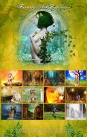 Fantasy Art Calendar 2014 by 3ddream