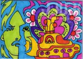 George Harisson and the Yellow Submarine by J-Dubi
