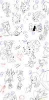 Epic Sketch Dump by SonicForTheWin2