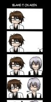 Blame It On Aizen by shatteredpetal