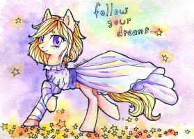 Follow you dreams~ by 0okami-0ni
