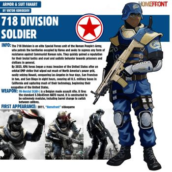 718 Division Soldier|Homefront by Pino44io