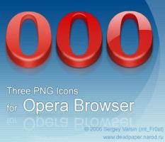 Three Icons For Opera by mtFr0st
