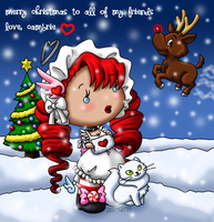 Christmas Greetings from Cambrie by louisalulu