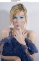 Blue mask 6 by almudena-stock