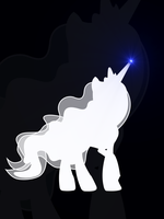 Luna Silhouette by flamevulture17
