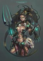 Headhunter Nidalee by MonoriRogue