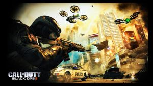 Call of Duty- Black Ops 2 Wallpaper by LadyAnnatar