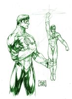 Green Lantern by caananwhite