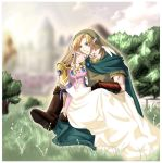Link and Zelda: Serenity by Nardhwen