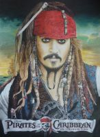 New Jack Sparrow drawing by MR by RuggiArt