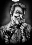 Joker T-Shirt by Jackolyn