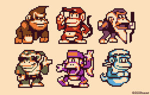 A bunch of apes! by AlbertoV