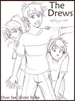 The Drews by irishgirl982