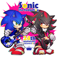 Sonic24th by itisaki39