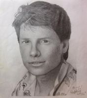 My First Pencil Portrait by danita-sonser