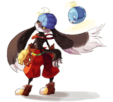 Klonoa by Kumo-no-Kami