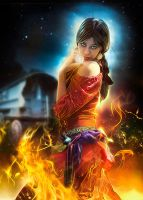 Gypsy Fire Dancing by LuLebel
