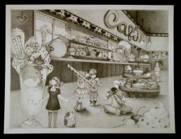 Candy Cafe by yerbuaaubrey