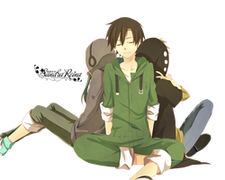 [Render #39] Kido, Seto and Kano (Kagerou Project) by sandrareina