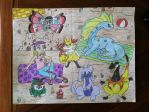 Pokemon Team, Generation 6 - Kalos by AnaturalBeauty