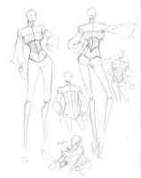 Fashion Sketch Dump Part 2 - 8 by shojokakumeii00