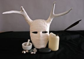 Antler Mask by raena-nayrue